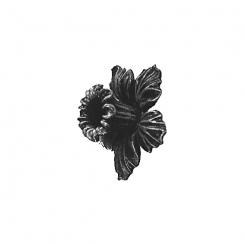 floare turnata